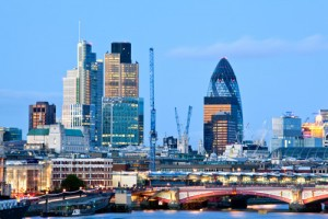 London skyline image